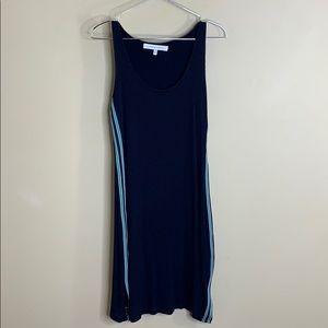 Cupcakes & Cashmere sleeveless rib knit dress